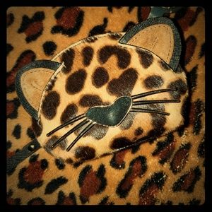 SALE! RARE! Kate Spade leopard coin purse